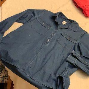 J crew denim tunic